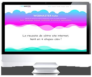 écran du site Internet webtuto.fr par Franck Cord'Homme