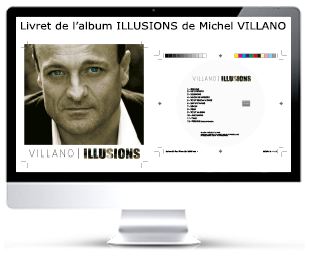 Michel Villano Livret CD