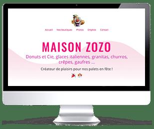 photo vignette du site Internet MaisonZozo.com par Riviera Créations - Franck Cord'Homme